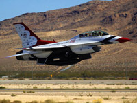 Hildebrand's F-16 Ride with the Thunderbirds