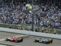 2010 Indy 500 - Race day